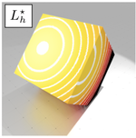 Heat kernel Laplace-Beltrami operator on digital surfaces