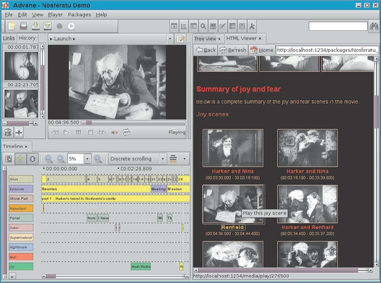5  Multimedia annotation and hypervideo — Empowering Ambivalence