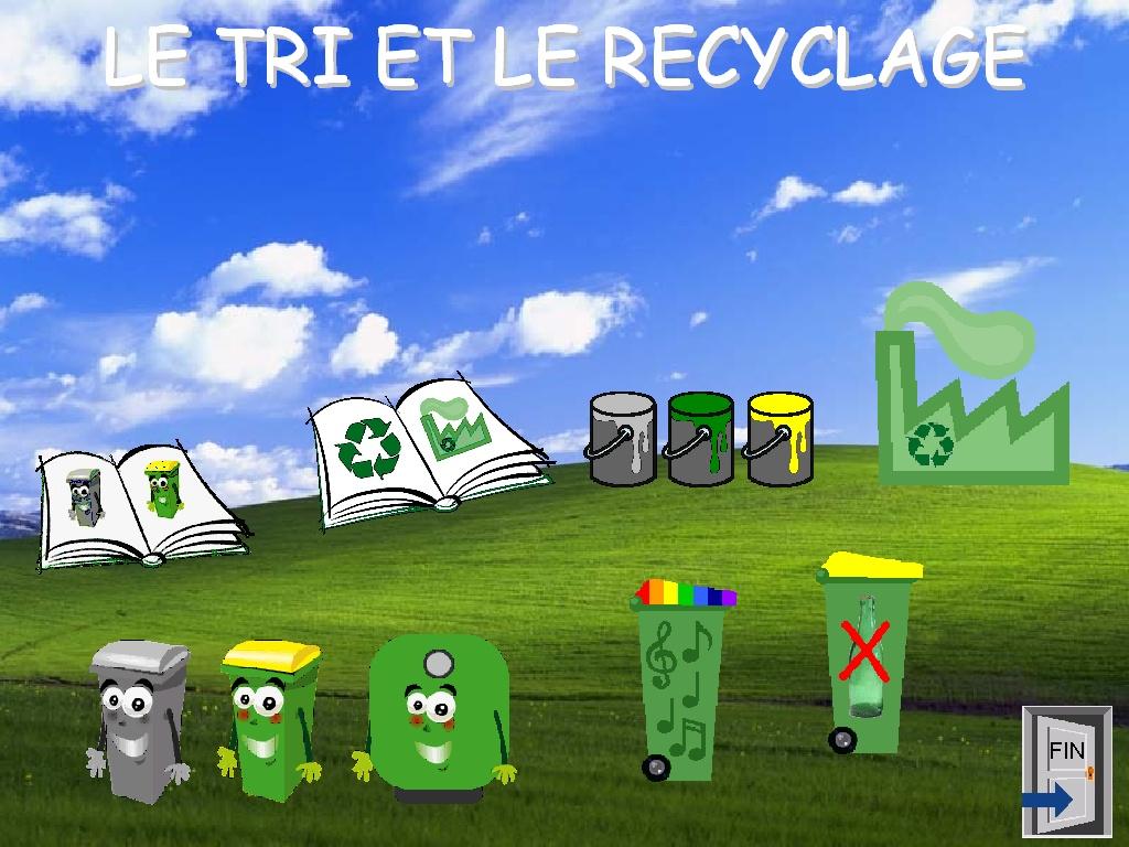 Logiciel tri tri s lectif et recyclage - Recyclage pour enfant ...