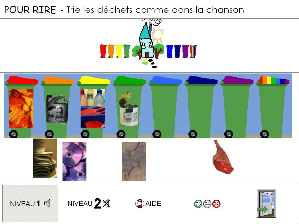Logiciel tri tri s lectif et recyclage - Activite manuelle sur le recyclage ...